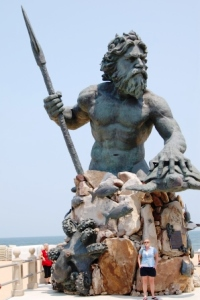 King Neptune Presides Over Virginia Beach Family Fun.