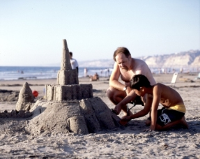 San Diego Sand Castles and Family Vacation Fun