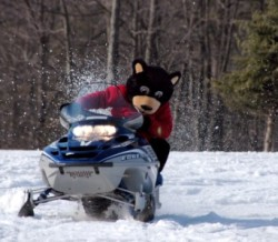 Woodloch Lake Resort PA Boomer Snowmobiling