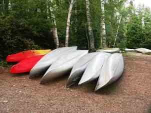 Sawbill Campground Boundary Waters Canoes