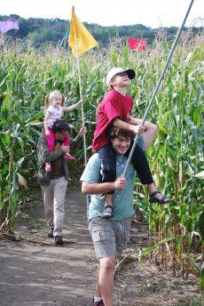 wisconsin corn mazes