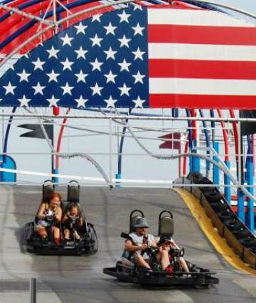 Speed Zone Elevated Go Carting in Pigeon Forge