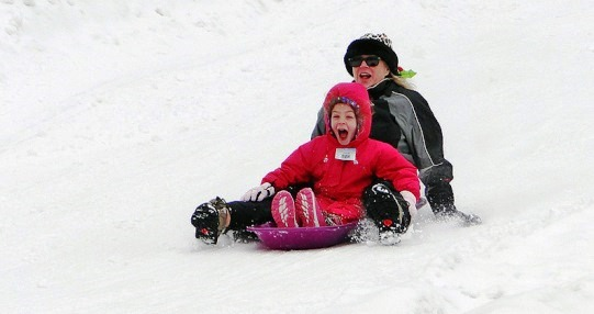 Snow Mountain Snow Tubing San Bernadino California