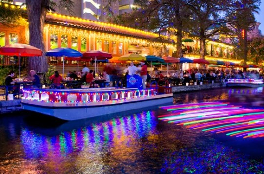 Holiday Lights River Walk San Antonio Texas