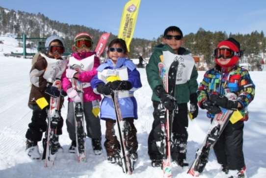 Bear Mountain Kids Skiing