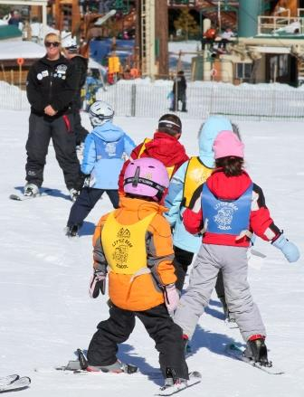 Big Bear Mountain Ski School for Kids.