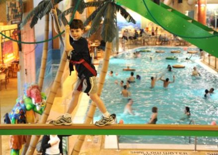 Splash lagoon Ropes Challenge in Erie, PA