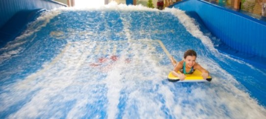 Great Wolf Lodge Waterpark Williamsburg Wipeout Slide