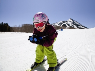 Crested Butte Colorado Kids Ski Free