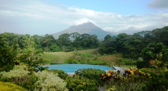 Arenal Lodge Cosat Rica Volcano View Family Travel Files