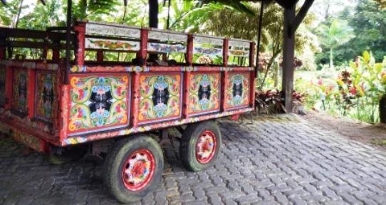 Arenal Lodge Cosat Rica Oxen Cart Family Travel Files