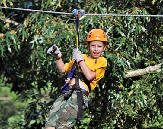 Smoky Mountain Zipline Adventure in Pigeon Forge, Tennessee