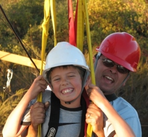 Moaning Cavern Adventure Park California Tandem Zipline Family Fun