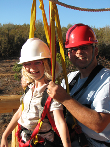 Moaning Caverns Family Zipline Adventures in California