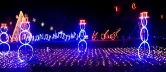 Jellystone Nashville Dancing Lights of Christmas