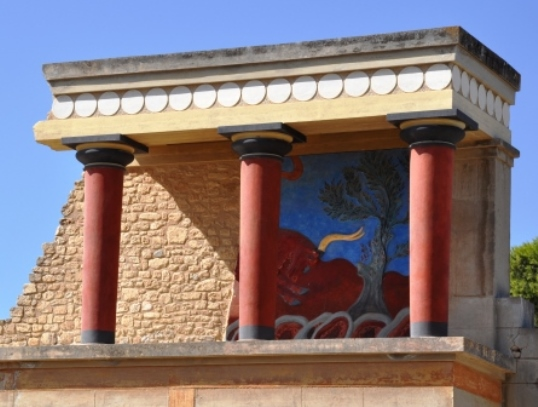 Temple of Knossos on Crete Kids Love Greece