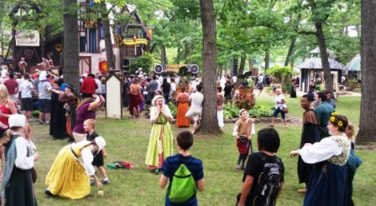 Bristol Renaissance Faire Children s Games Family Travel Files