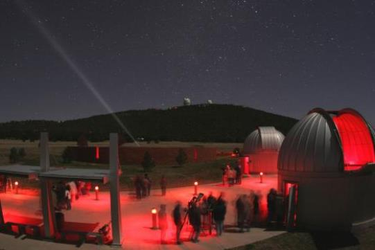 McDonald Observatory Star Party Family Experience