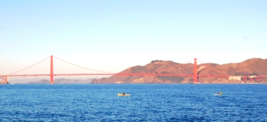 Golden Gate Bridge Cruise Views San Francisco Bay