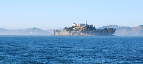 Alcatraz on San Francisco Bay, California