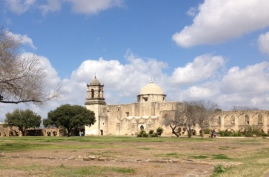 San Antonio Missions National Park in Texas