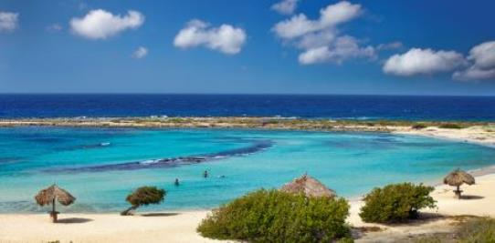 Baby Beach Lagoon on Aruba
