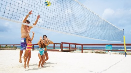 De Palm Island Aruba Beach Volleyball Play
