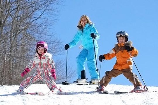 Appalachian Mountain Ski Family Boone NC