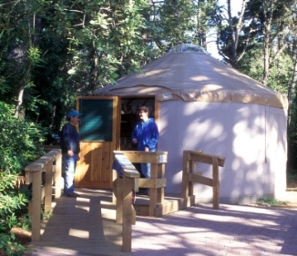 Bullards Beach State Yurt Camping