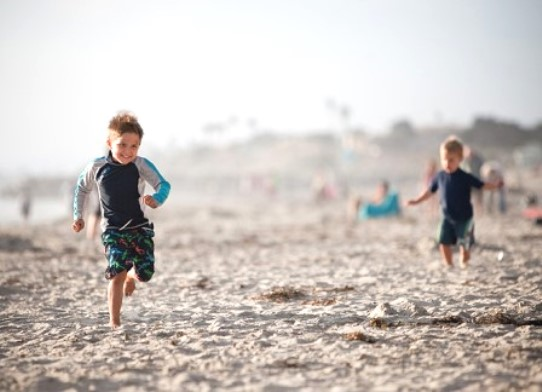 Southern California Beach Days with Kids