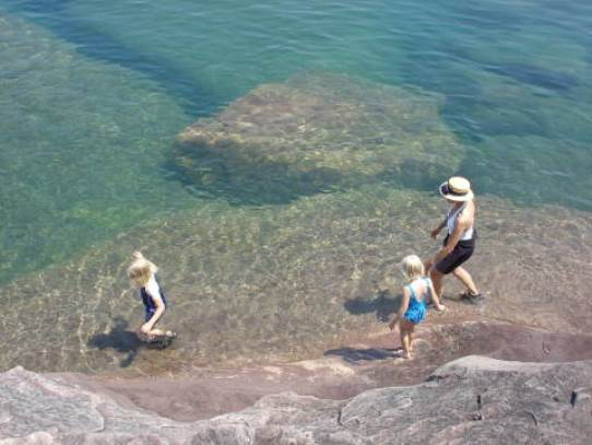 Big Bay State Park on Lake Superior Apostle Islands Wisconsin