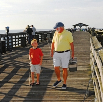 North myrtle beach family beach vacations things to do for North myrtle beach fishing pier