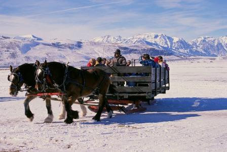 NWR Winter Sleigh Ride Wyoming