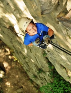 ACE Adventure Resort Family Camp Rock Climbing