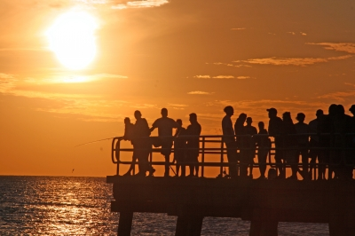 Anna Maria Island Gulf Sunset Ceremony