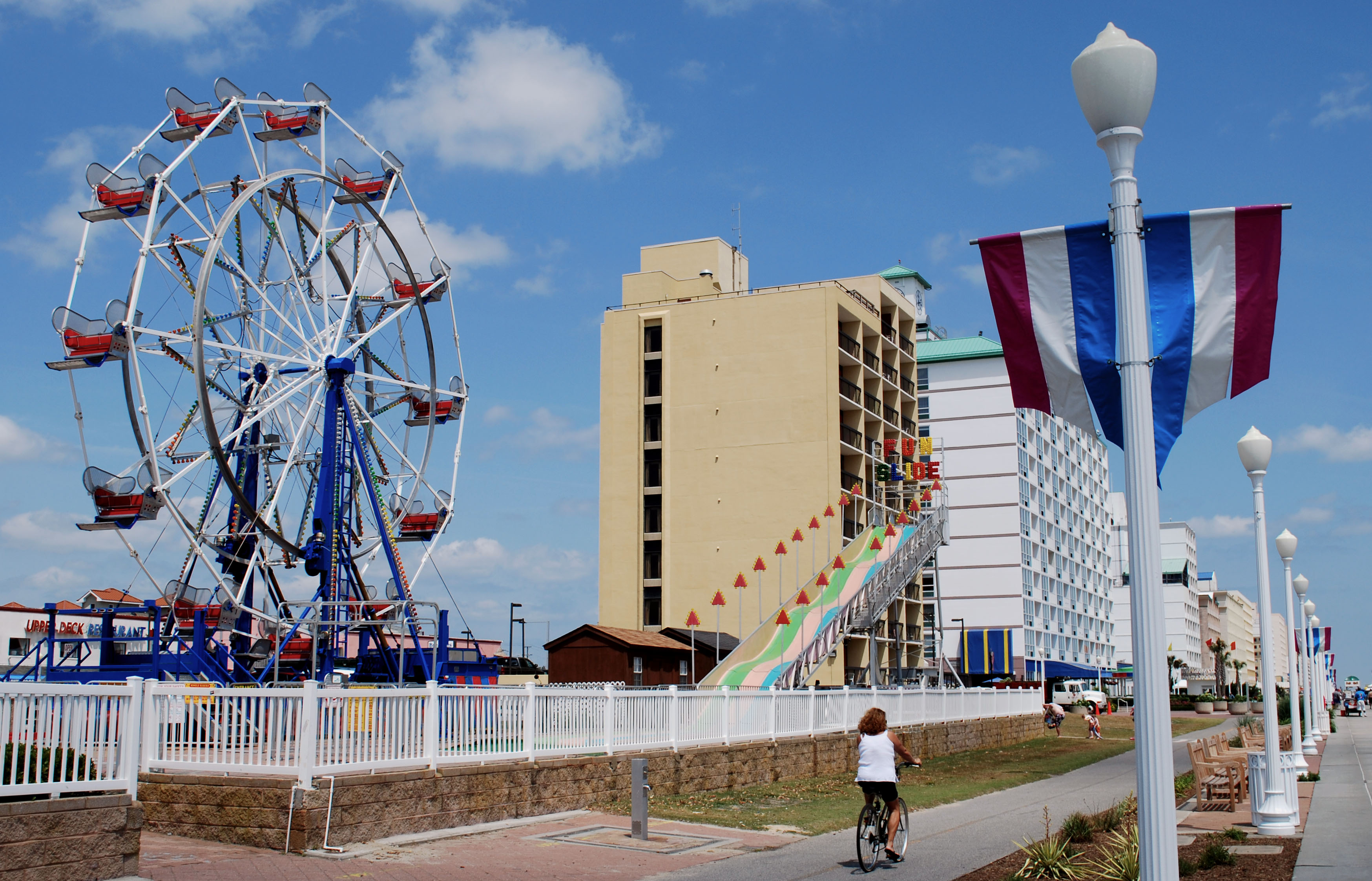 Virginia Beach Boardwalk Ferris Wheel Family Travel Files