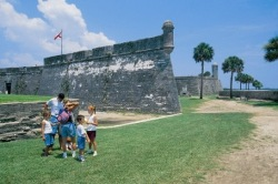 St Augustine Florida Old Spanish Fort