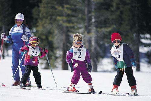 Lake Tahoe Kids Skiing