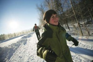 Purity Spring Cross Country Skiing with Kids