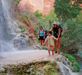 Hiking Grand Canyon Havasupai