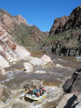 Salt River Spring Break Whitewater in Arizona