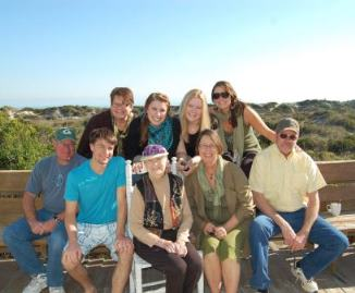 Family Reunion on St. Augustine Beach