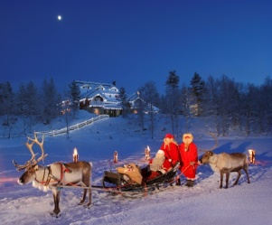 Finland winter family vacation ideas things to do see for Family winter vacation ideas
