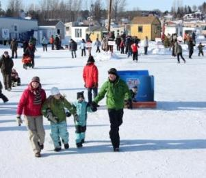 Villagesur Glace Winter Family Fun in Quebec