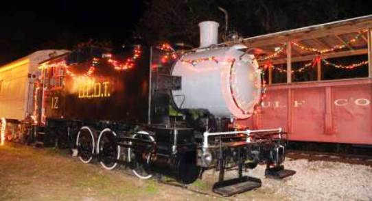Gulf Coast Railway Santa Train in Florida