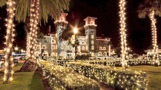 St. Augustine Lightener Museum Nights of Lights