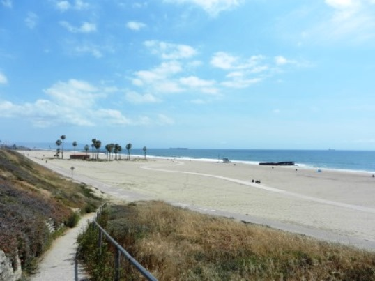 Playa del Rey Beach Southern California