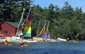 Maine Kingsley Pines Family Camp Beach Time