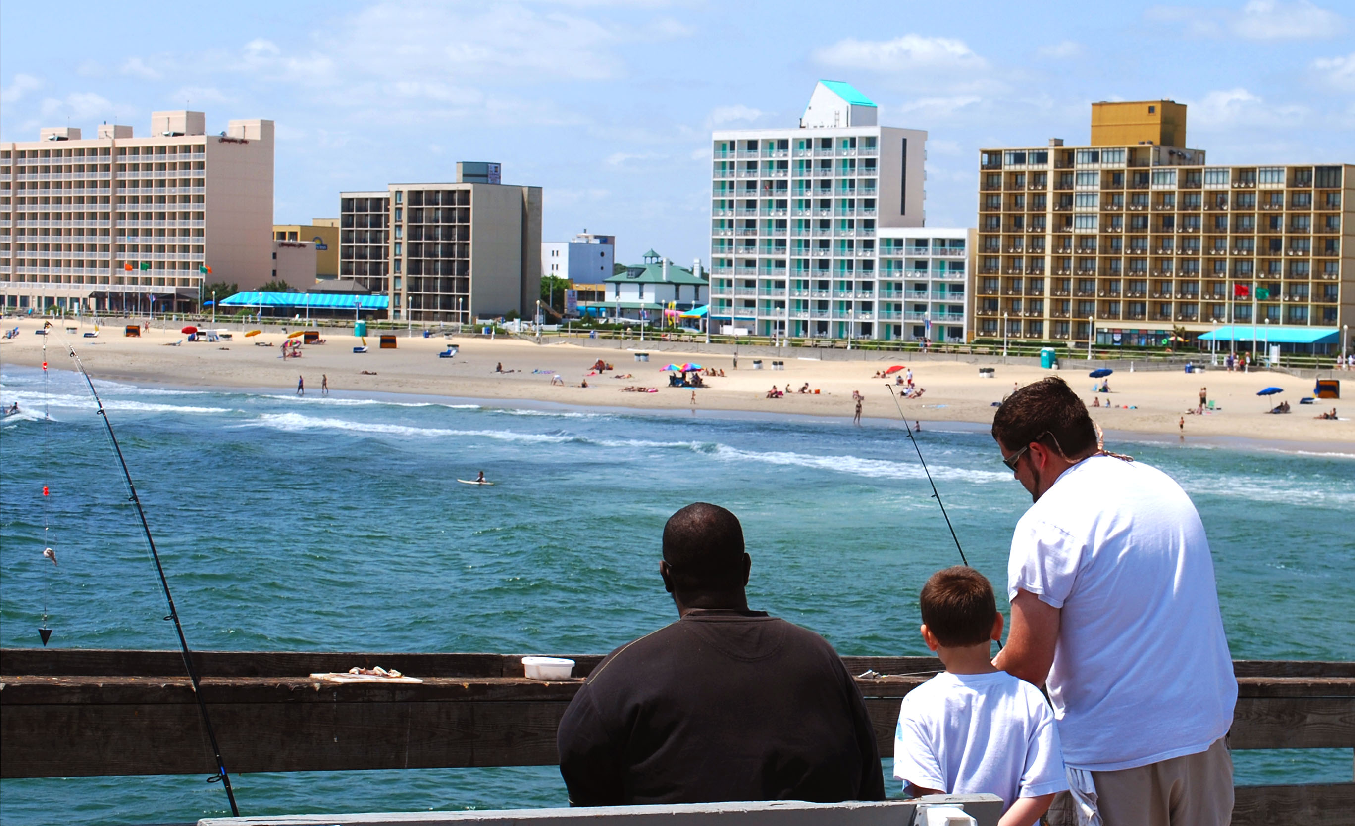 Virginia Beach Fishing Pier Family Travel Files