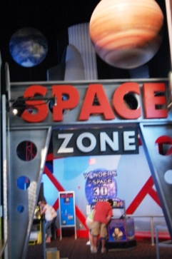 Space Zone Pigeon Forge Family Fun with Teens